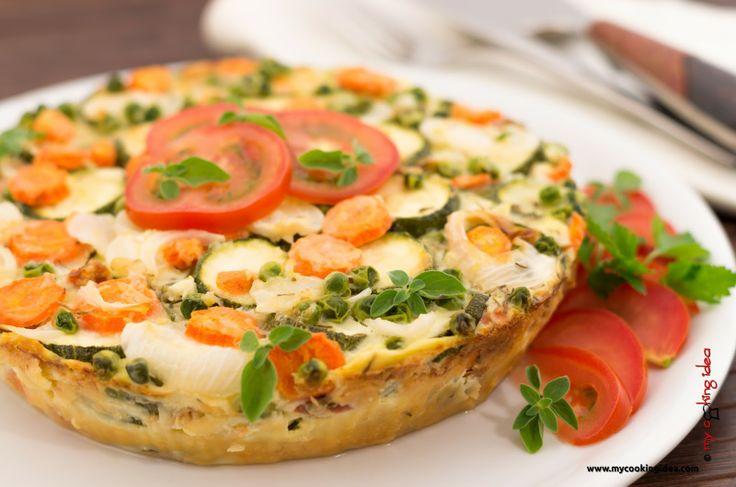My Cooking Idea. Ricette di cucina vegetariana, vegana, dolci e dessert.: Tortina di verdure primaverili