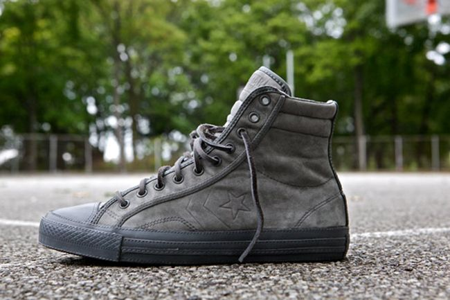 Converse Star Player 75 Hi Deluxe by Ronnie Fieg in Grey