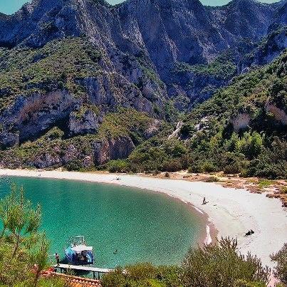 Seitani beach,Samos island,Greece