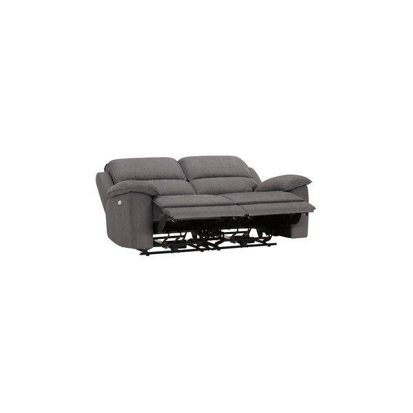 Charcoal Fabric Sofas Modular 2 Seat Recliner Goodwood Range Oak Furnitureland Fabric Sofa Recliner Modular Sofa