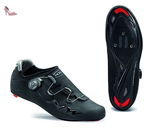 NORTHWAVE Chaussures velo route homme FLASH noir - Chaussures northwave (*Partner-Link)