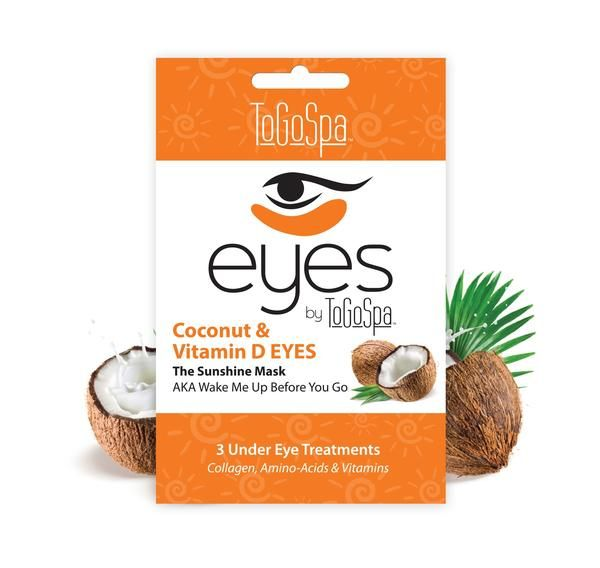 Coconut Eyes By Togospa The Hydration Staycation 3 Treatments Undereye Under Eye Mask Collagen