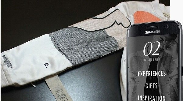 Future Clothing to be Connected to the Internet #technologyindustry #BRIGHTBMBR #smartbomberjacket
