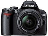 Nikon D40x SLR-Digitalkamera (10 Megapixel) schwarz inkl. AF-S DX 18-55 Objektiv