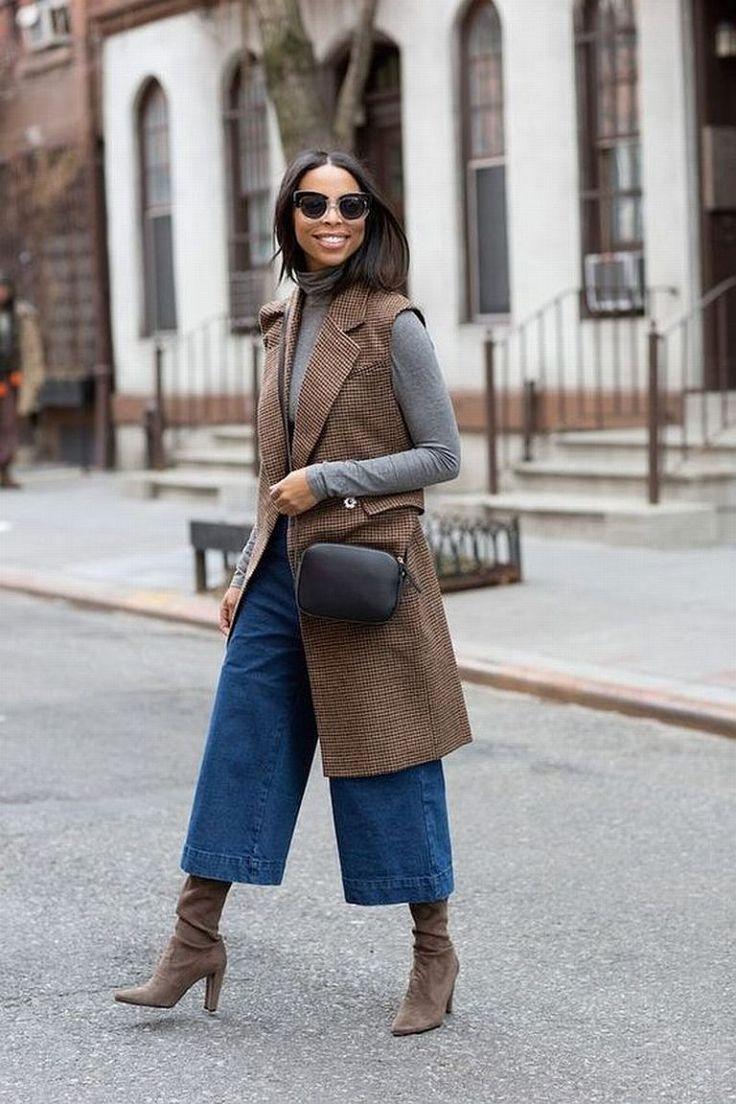 Como usar calça pantacourt no inverno? Veja looks e inspire-se