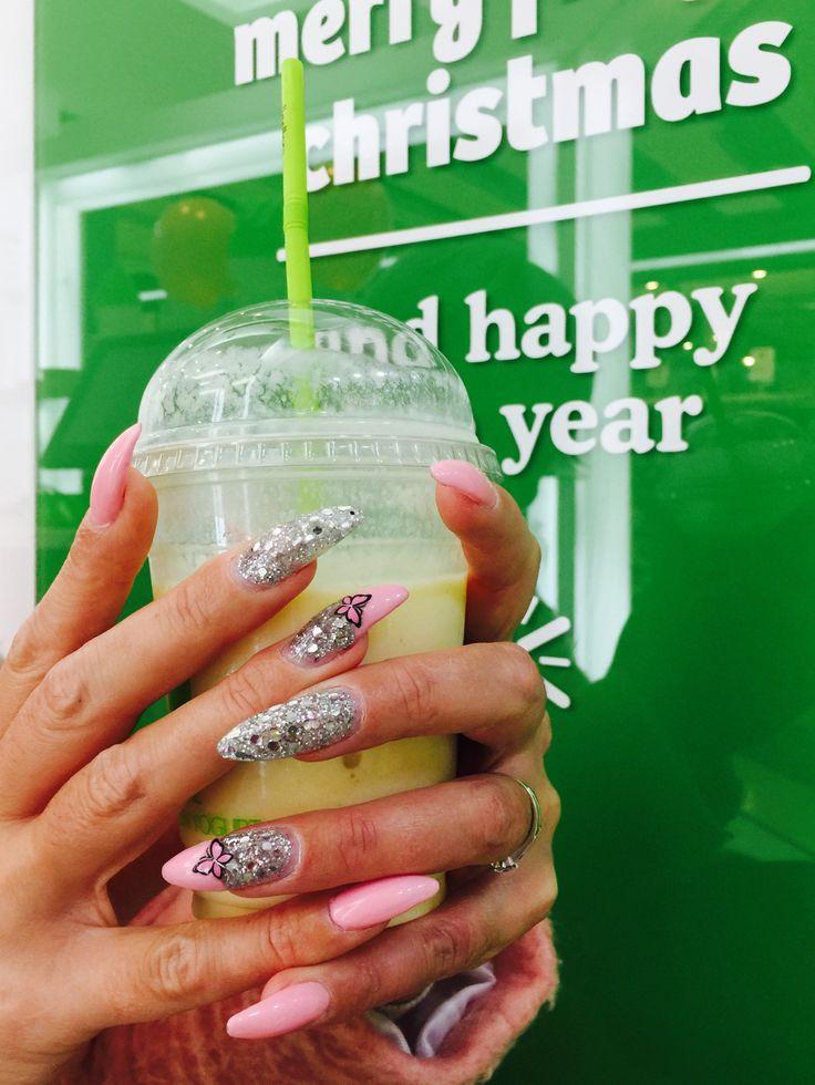 Mejores 60 imágenes de Mis uñas de gel coloridas en Pinterest