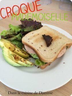 Croque-mademoiselle {recette végétalienne}