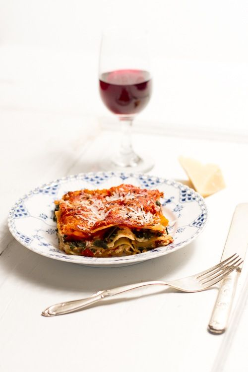 Spicy Kale Lasagna--(Just a tip – we found it works best with no ...