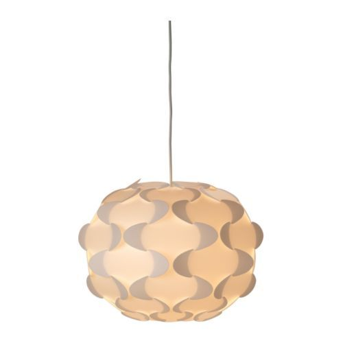 """IKEA - FILLSTA, Pendant lamp, 14 """", , Diffused light that provides good general light in the room."""