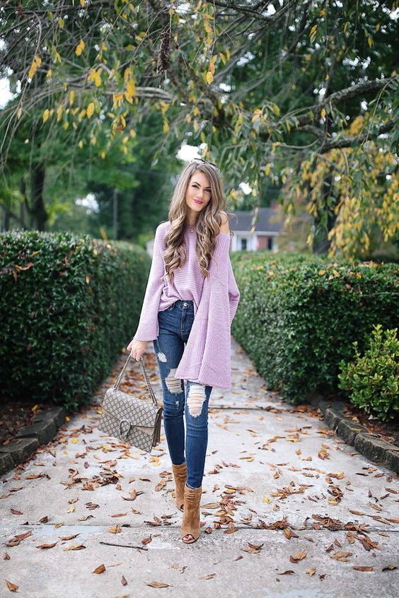 db7f65debd 2018 Spring Trend  Pretty Lavender Outfit Ideas to Brighten up Your Days