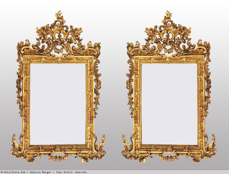 les 13 meilleures images du tableau miroirs anciens sur. Black Bedroom Furniture Sets. Home Design Ideas