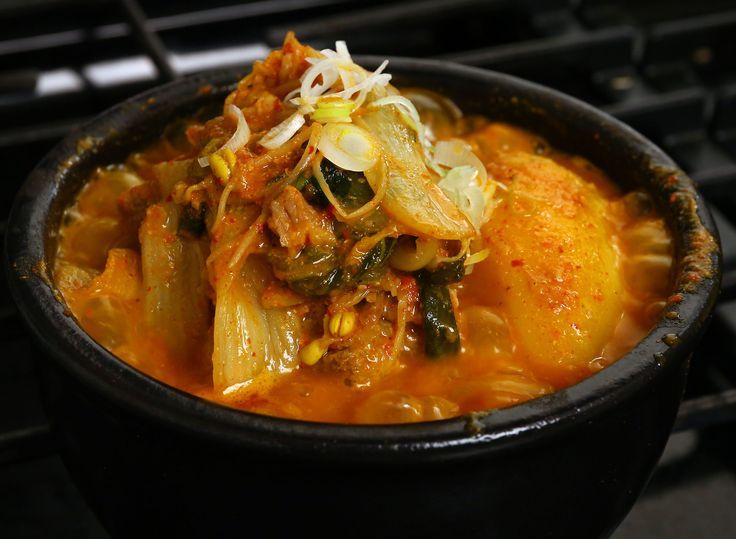 Pork bone soup (Gamjatang) recipe - Maangchi.com