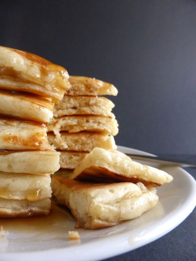 Drop Scones (Scotch Pancakes) Quick, easy and oh so tasty! Drizzle with maple syrup and butter or serve with butter and jam. Delicious!!