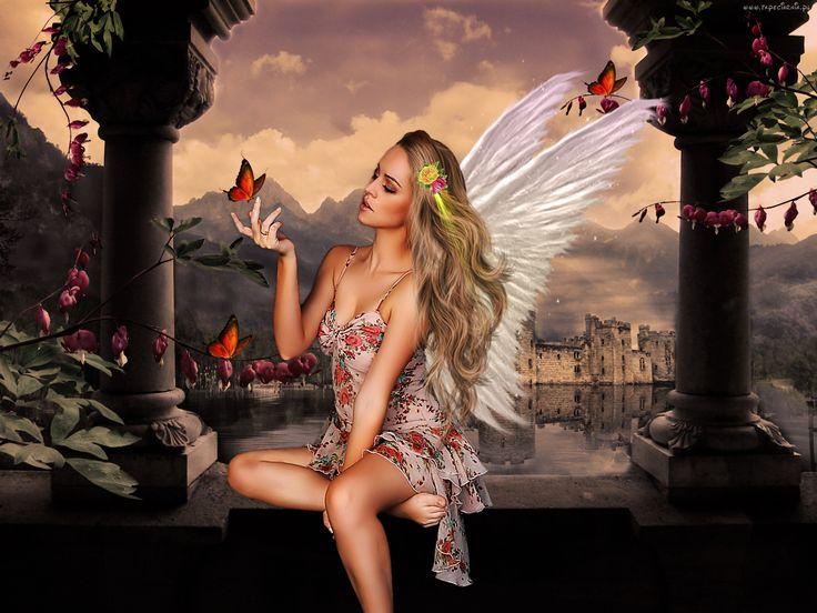 Anioł, Fantasy