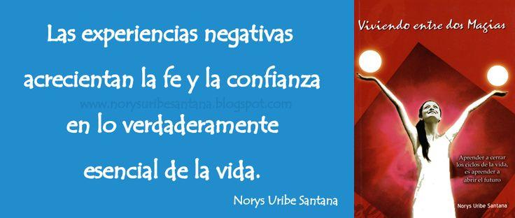 NORYS URIBE SANTANA: REFLEXIONES DE VIDA Nº 40 LA FE Y LA CONFIANZA