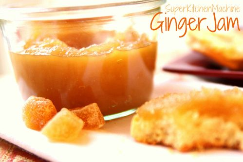 Thermomix - Instant Ginger Jam Recipe Christmas gift for Pa