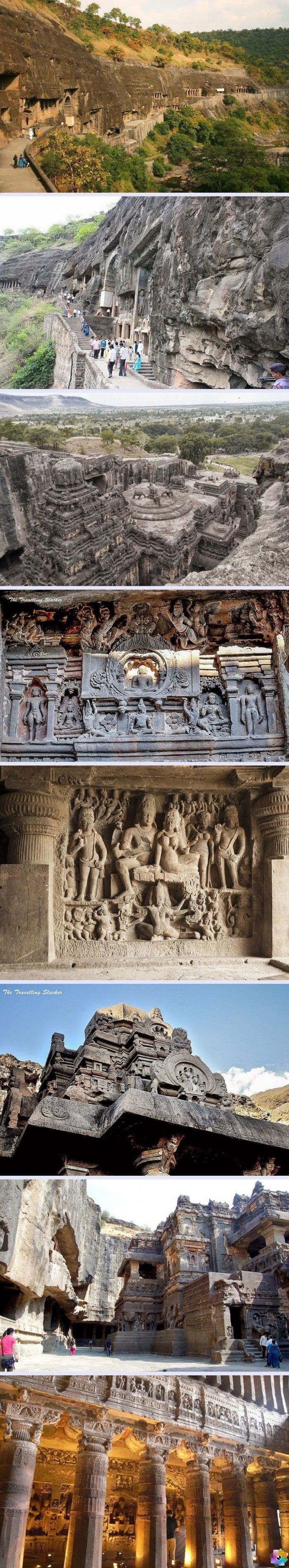 Ajanta ve Ellora Mağaraları - Hindistan www.4finite.com