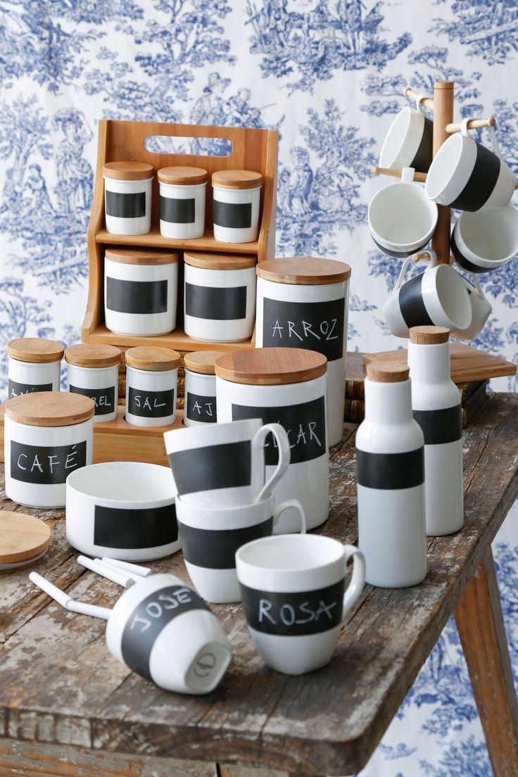 Organiza tu #Cocina con estos originales recipientes. ¡Puedes personalizarlos a tu pinta!