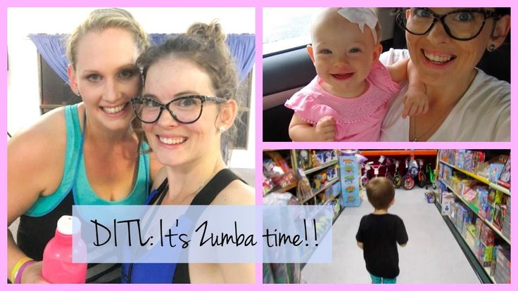 Its Zumba Time!! | DITL - YouTube