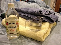 How to use vinegar as a laundry softener