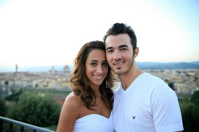 Danielle Jonas and Kevin Jonas