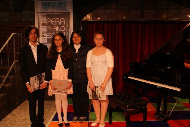 Pera Piyano Festivalinde Nar Sanat Öğrencileri de vardı