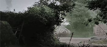 Great action with the 17. SS Panzergrenadier Division Götz von Berlichingen and the paratroopers from Fallschirmjäger-Regiment 6 in the area of Carentan, Normandy against US forces in mid-June 1944. Both Götz von Berlichingen Division and...