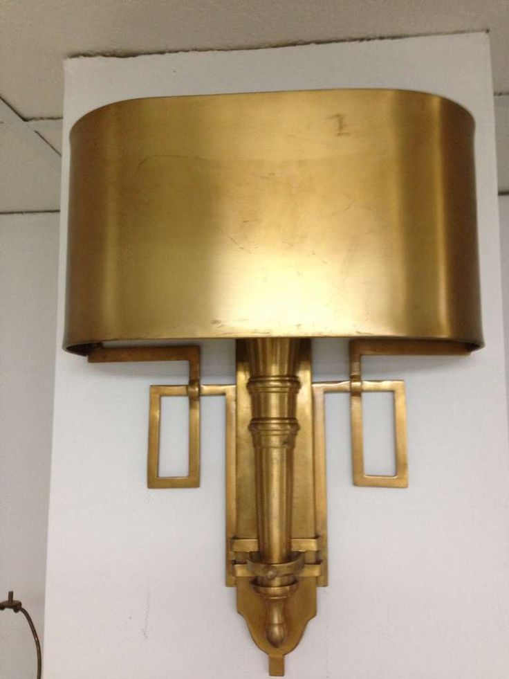8 best images about brass wall sconces for a great lighting effect on pinterest decorating - Wall sconce decor ...
