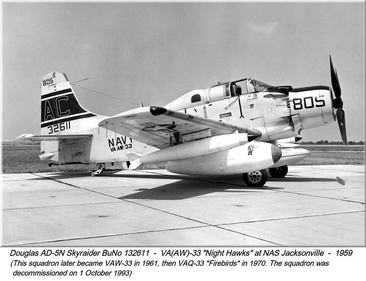 The Skyraider was designed during World War II to meet United States Navy requirements for a carrier-based, single-seat, long-range, high performance dive/torpedo bomber. Designed by Ed Heinemann of the Douglas Aircraft Company. The XBT2D-1 made its first flight on 18 March 1945 and in April 1945, the USN began evaluation of the aircraft at the Naval Air Test Center (NATC). In December 1946, delivery of the first production aircraft to a fleet squadron was made to VA-19A.