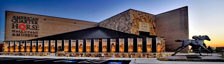 AQHA members enjoy free admission to the American Quarter Horse Hall of Fame & Museum in Amarillo. Visit http://aqha.com/museum for hours and directions.