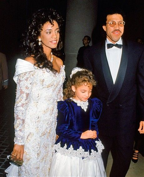Nicole Richie with first wife Brenda and their daughter Nicole