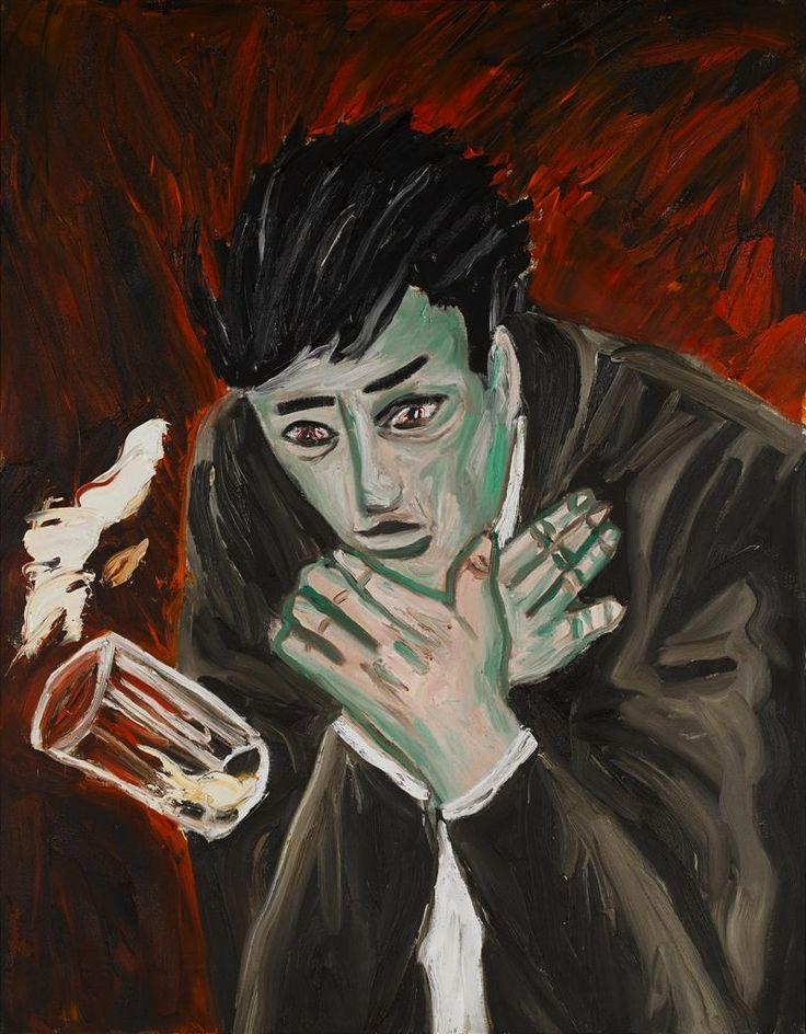 thunderstruck9:  Richard Bosman (American, b. 1944), Poison, 1982. Oil on canvas, 54 x 42 in.