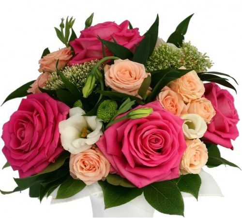 Paris With flair and panache this posy of flowers is very chic with a hint of French couture for that elegant lady in your life.#Anniversary #Flowers #Roses.http://bit.ly/1hqNnuJ