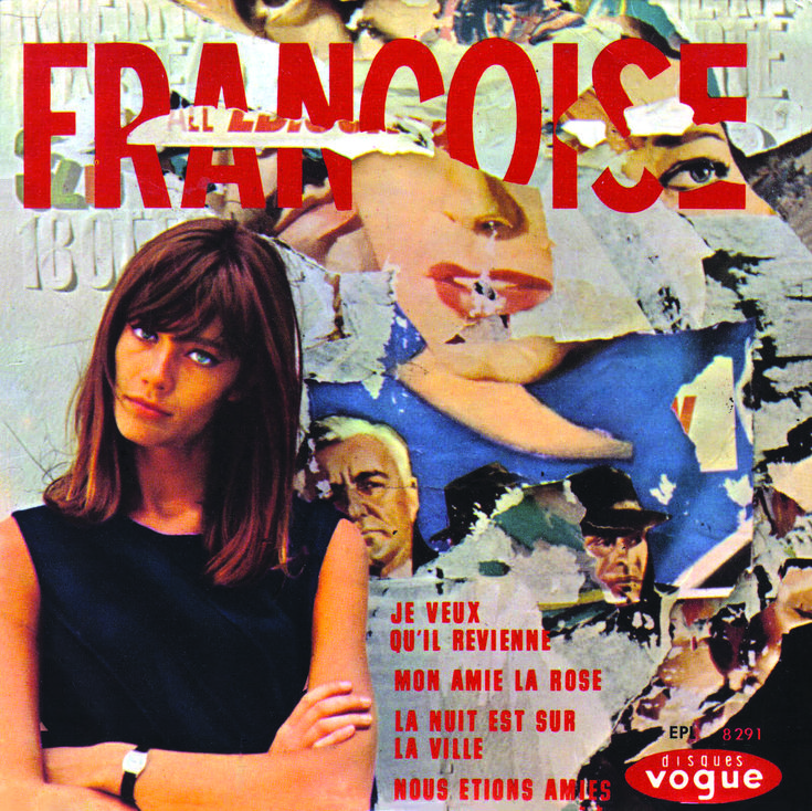 Fawn over Francoise Hardy in the new book Ye-Ye Girls of '60s French Pop