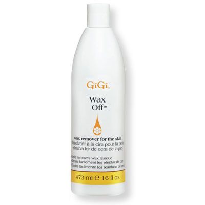 GiGi - Wax Off, GiGi Wax Off gently removes all traces of wax from the skin. Enriched with Aloe Vera and essential oils to moisturize as it cleans, GiGi Wax Off leaves skin soft and silky to the touch.