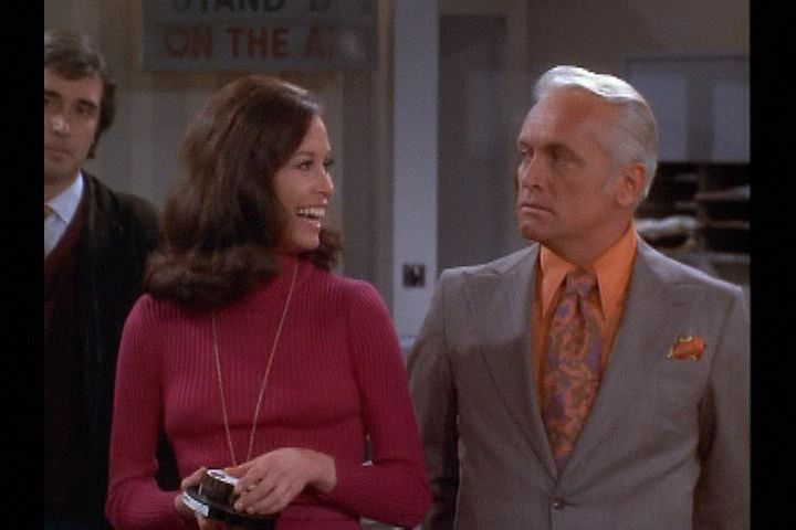 Mary Tyler Moore (1970) , Season 1 , Episode 23, Smokey the Bear Wants You, Episode aired 27 February 1971, , , Mary Tyler Moore,  Ted Knight ,  Ted Baxter