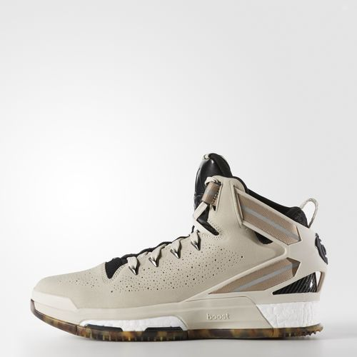 adidas D Rose 6 Boost Shoes - Brown