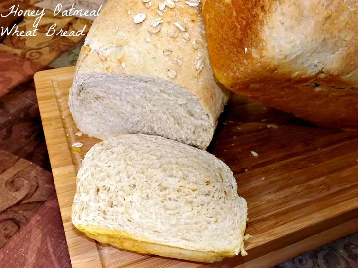 Honey Oatmeal Wheat Bread- soft and tender, tastes amazing, this bread is great for sandwiches, toast, spread with butter or just plain. It's THAT good! Plus, it keeps really well and that's always a plus! http://www.fromcupcakestocaviar.com/2013/09/14/honey-oatmeal-wheat-bread/