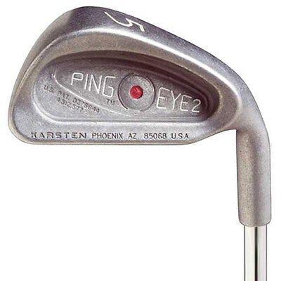 Ping Golf Clubs Eye 2 Single 9 Iron Stiff Steel KT Blue Dot Men Right-Hand Value #golfequipmentirons