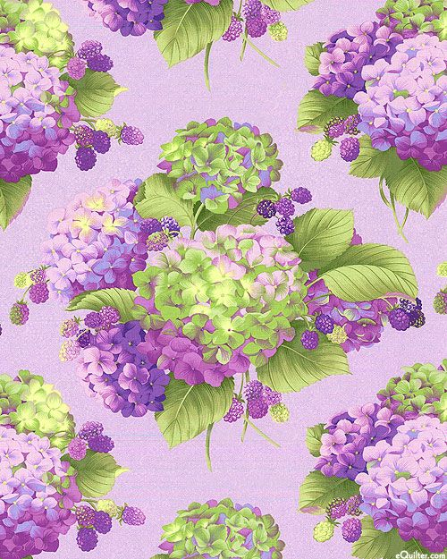 3236 best Fabric images on Pinterest | Ideas, Lavender and Courtyards : hydrangea quilt fabric - Adamdwight.com