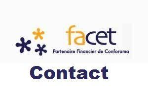 FACET Contact : Téléphone, Adresse...