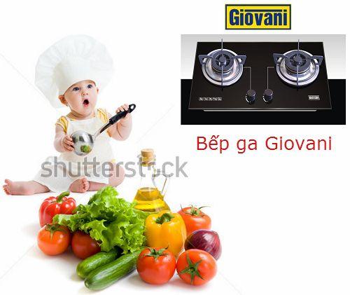 Lý do để bạn yêu mến bếp ga Giovani