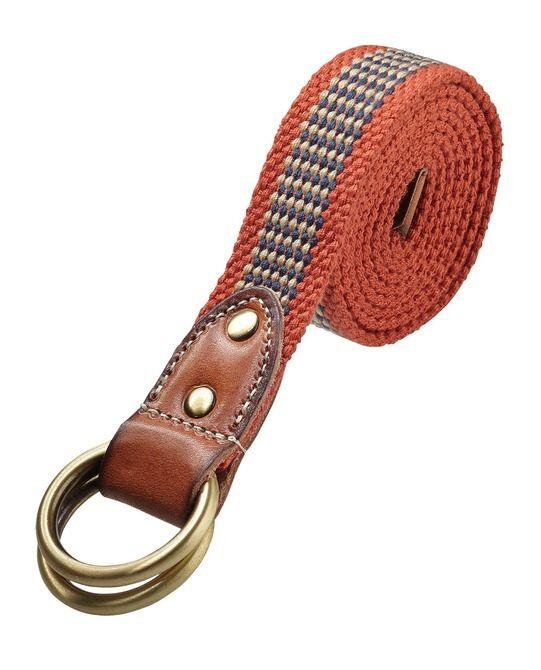 Woven D-Ring Belt - Scotch & Soda