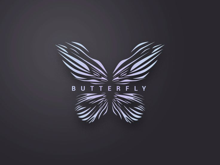 Free logo Butterfly  by Volodymyr Kurbatov