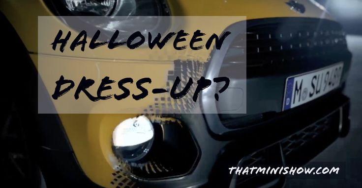 MINI USA Goes Dark for Halloween:
