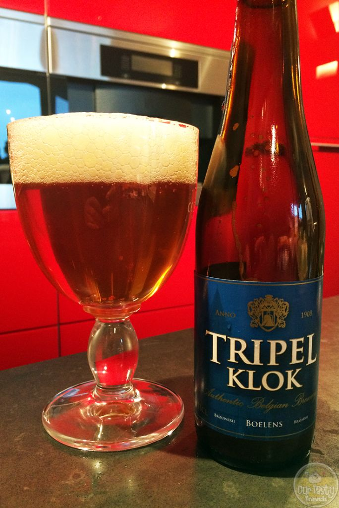 15-Jul-2015 : Tripel Klok by Brouwerij Boelens. Not a lot of aroma or initial flavor. The bitterness comes on just after. #ottbeerdiary