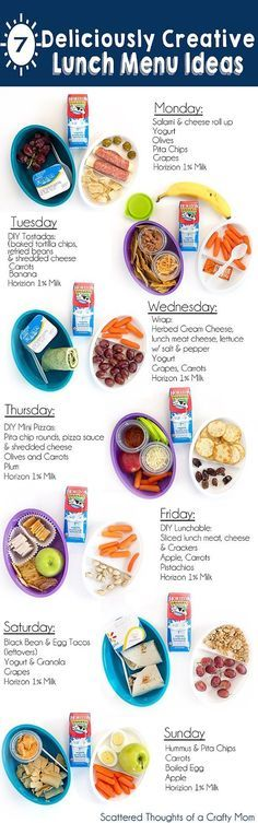 7+ Deliciously Creative Lunch Ideas for Kids