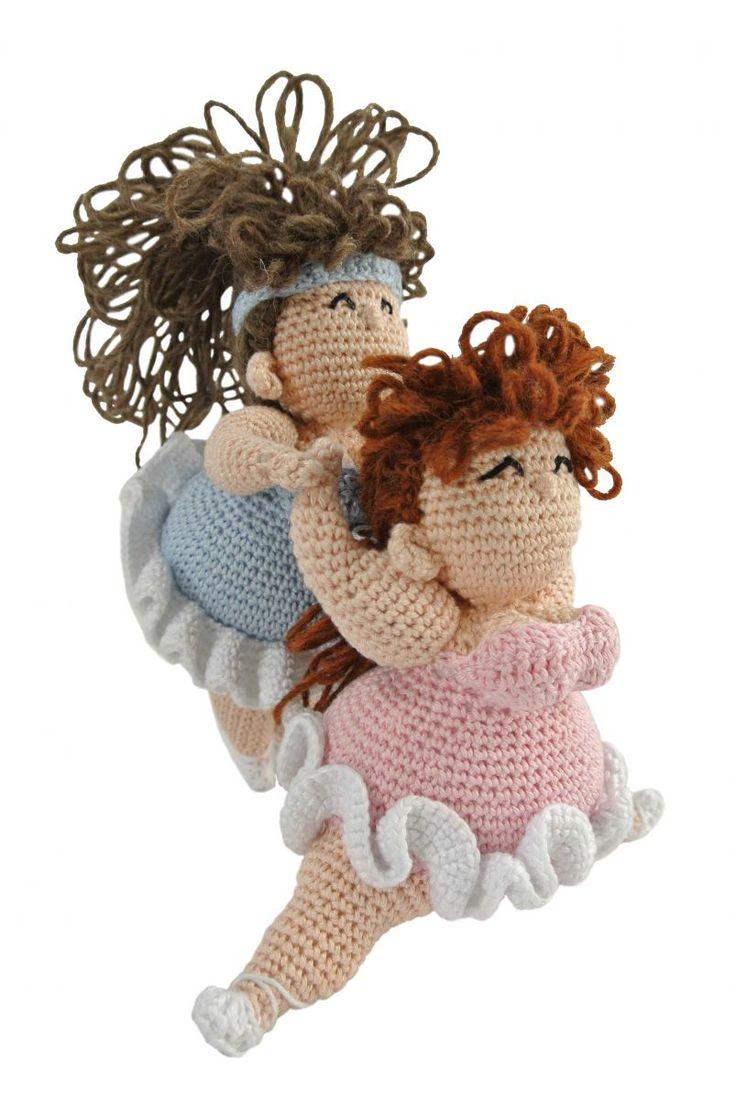 Dikke Dames Haken - Uniekadoos / Cute crochet fat / chubby ladies - Credits Anja Toonen / haakpret.nl