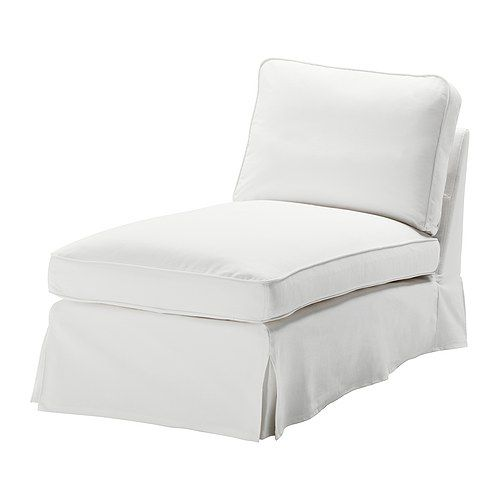 EKTORP Cover free-standing chaise lounge IKEA Easy to keep clean with a removable,machine washable cover.