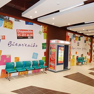 PANELADOS CC HOLEA (HUELVA)  #diseño #impresiongranformato #diseñodeinteriores